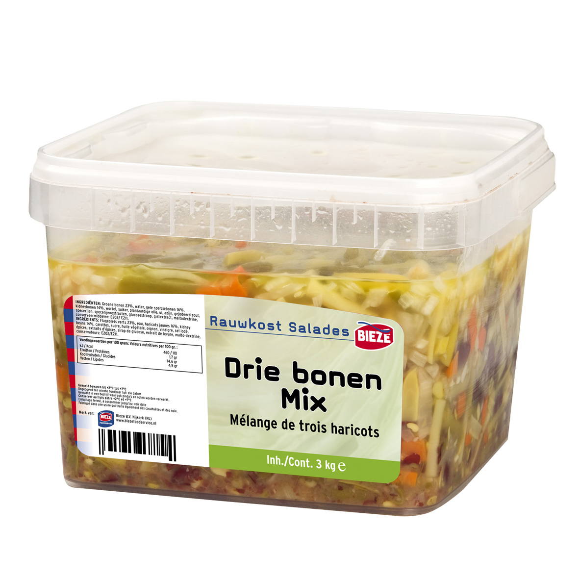 DRIE BONEN MIX - emmer