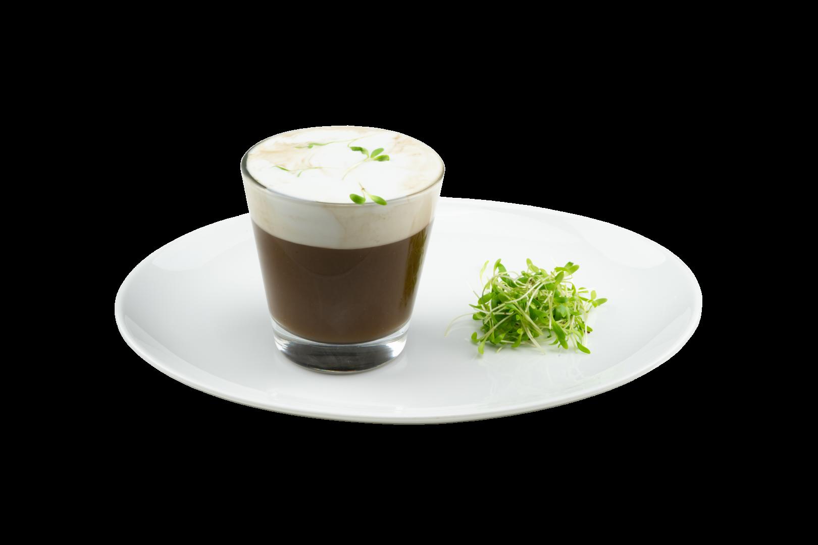 Romige cappuccino op basis van Maître Cuisine Glace de Champignon