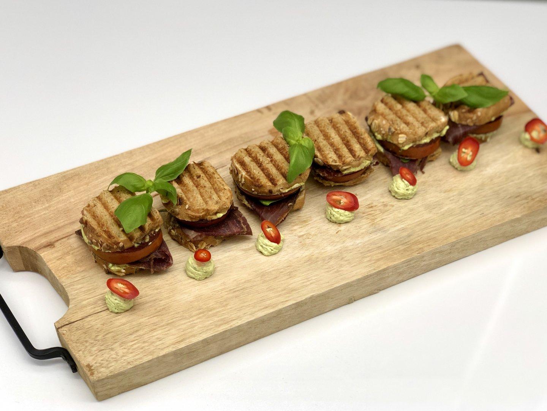 Luxe mini tosti's