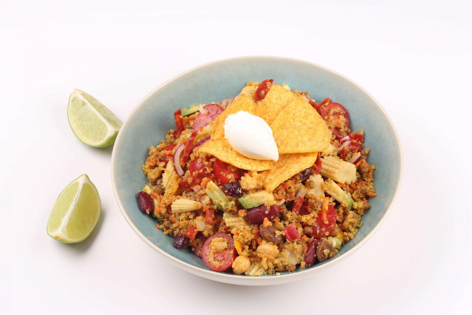 Mexicaanse Quinoa Salade