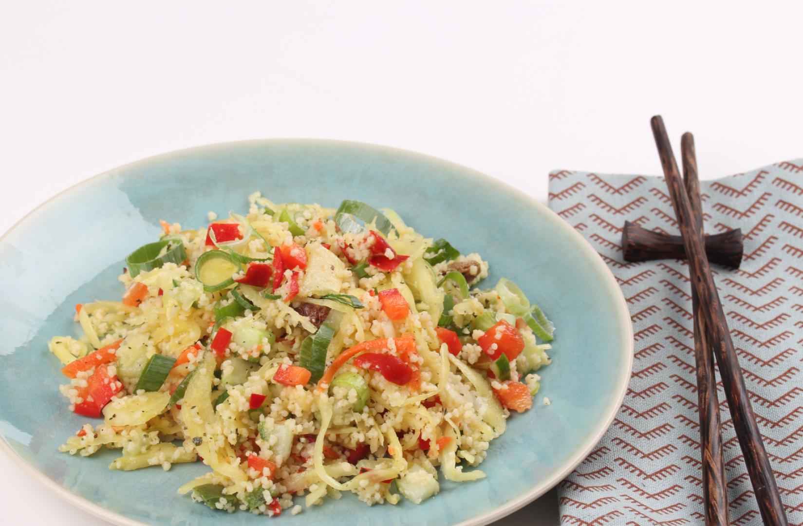 Oriëntaalse couscous met Oosterse Mix
