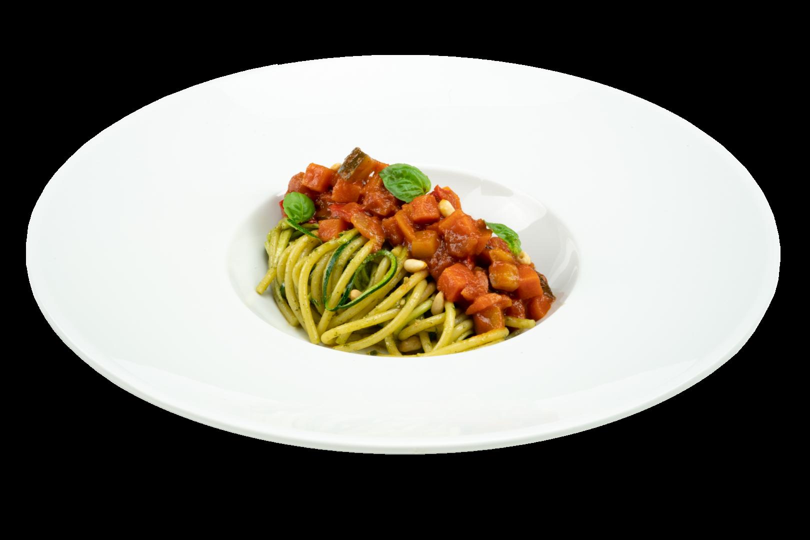 Spaghetti & Courgetti met Vegetarische Bolognese Saus