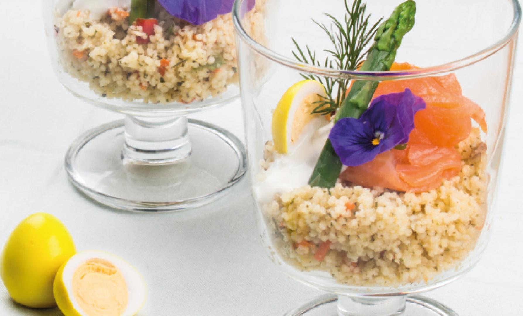 Voorjaarsamuse van couscous